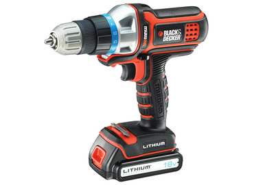 Aku vrtací šroubovák BLACK and DECKER MT18K, 18V, 1,5 Ah, Li-ion